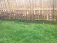 Metal fence £110