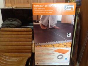 Ditra Heat by Schluter. Latest version. Don't pay $679+HST!!!!!!