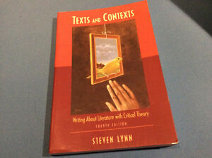 Texts and Contexts (4th Edition) by Steven J Lynn - not used