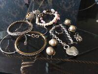 Jod lot jewellery rings bracelets earrings pendant
