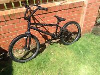 Lovely Well Looked Adult BMX Bike Made By Giant Black & Grey Design Great For The Summer
