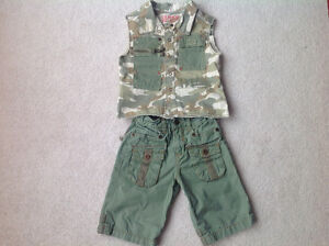 Brand new two piece clothing from Guess 12-18 months