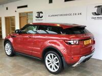 2013 Land Rover Range Rover Evoque 2.2 SD4 Dynamic LUX Coupe 4x4 3dr Diesel red