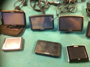 GPS,S for sale ,8 to choose from ,Garmin,Tom Tom,Magellan .