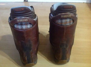 Burton snowboarding boots for women size 7.5 West Island Greater Montréal image 3