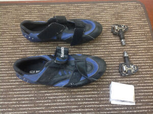Bicycle shoes clips cleats shimano