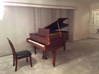 Piano lessons from a professional/ Cours de piano