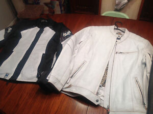 Leather Motorcycle jackets/boots