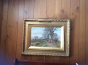 Watercolour Henry Charles Fox Signed  1910