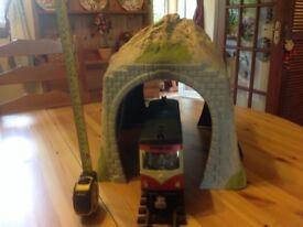 Model railway tunnel