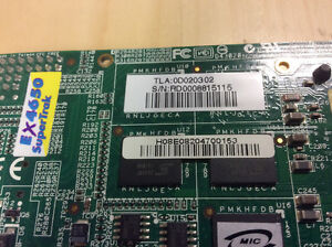 Promise EX4650 4 SAS / SATA (1 port) RAID card, with 128Mb cache Cambridge Kitchener Area image 2