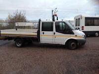 Ford Transit 2.4TDCi 115 ps double cab pick up 2010 dropside