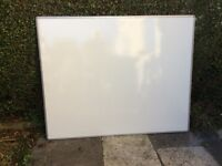 1500 x 1200mm DRYWIPE WHITE BOARD- Double Sided