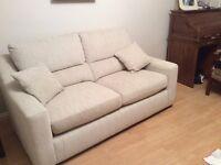 Superb fabric sofa