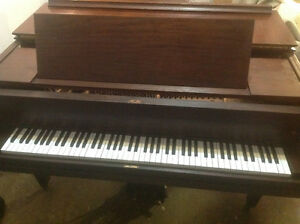 GRAND PIANO IVERS&POND AND BENCH OR BEST OFFER