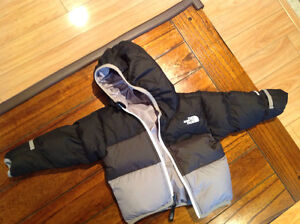 North face 550 down jacket 6-12 month