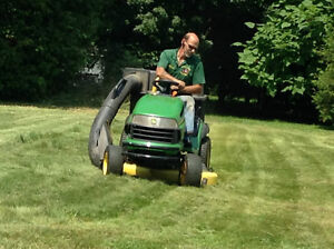 lawn care services and lawn maintenance
