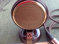 Vintage 1950's Grundig GCM3 Microphone