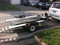 TRAILER AND RAMPS FOR SALE