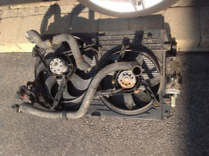VW GOLF JETTA RADIATOR WITH A/C CONDENSOR AND DRIER