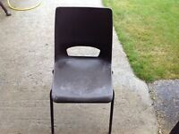 6 Stackable chairs for sale