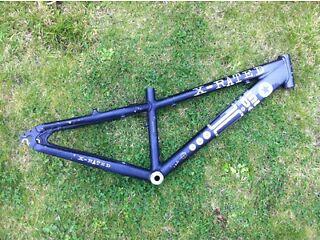 X-rated mtb street bike frame