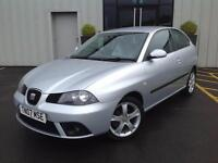 Seat Ibiza 1.4 16v 2007 CAR Sport MODEL, GENUINE LOW MILES WITH FULL HISTORY