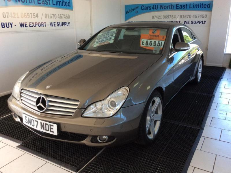 2007 mercedes benz cls cls 320 cdi tip auto in bedlington northumberland gumtree. Black Bedroom Furniture Sets. Home Design Ideas