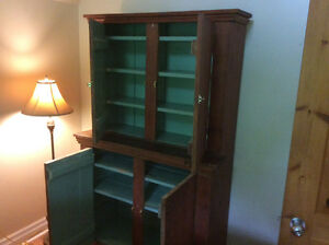 Antique Quebec pine hutch