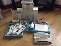 Nintendo Wii BUNDLE with 8 Games