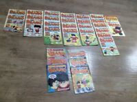 24 Dandy comics in total, 1995-2001 + 31 Beano Comics 1995 - 2002