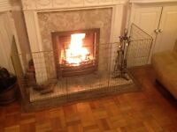 Large fire guard - ideal for keeping children and animals away