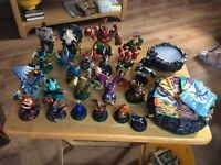 Skylanders figures and cards