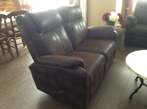 Two Beautiful ELRAN Double Recliners
