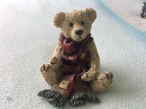 Boyds Bear with scarf