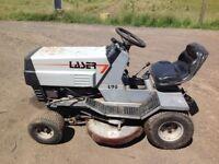 Ride on garden mower
