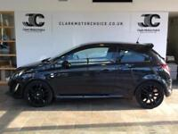 2014 Vauxhall Corsa 1.2 i 16v Limited Edition 3dr (a/c) Petrol black Manual