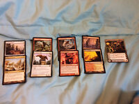 8 mtg and 1 chaotic cards
