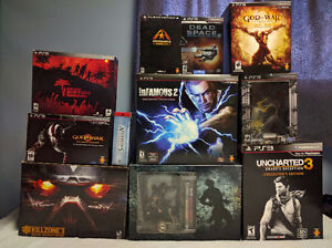 PS3 Game Lot - Collector Editions London Ontario image 1