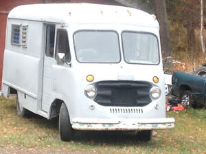 1955 Vintage Chevy Step-Van!