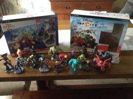 Disney infinity PlayStation 3 starter packs plus figures