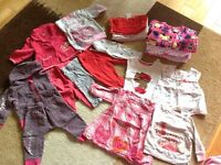 Bundle of Baby Girl Clothes 3-6 mnths