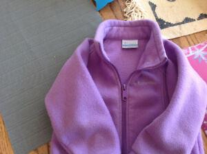 Girls Columbia fleece jacket size 3t