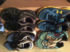Size 2 Boys running shoes