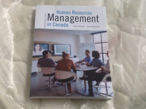 Human resources management in Canada 13th Canadian edition