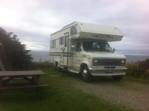 22 ft Holidaire Motorhome