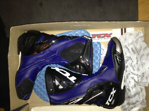 Men's brand new TCX Moto racing boots size. 9.5