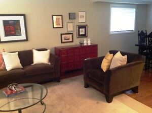 Sofa Set, Pottery Barn, excellent condition, high quality URGENT