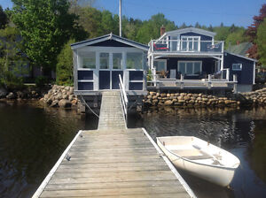 Direct oceanfront cottage in South Shore, N.S.