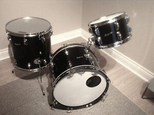 "ROGERS drums USA made 'Holiday"" model in beautiful black"
